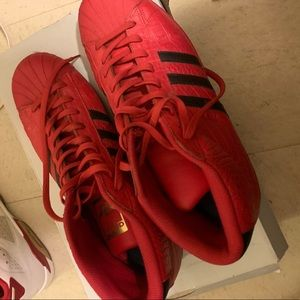 Red adidas size 13 great condition
